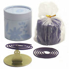LAVENDER 2 HOUR INCENSE COILS - Spa Aromatherapy Meditation Spiritual Massage