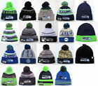 Seattle Seahawks Cuffed Beanie Winter Cap Hat NFL Authentic