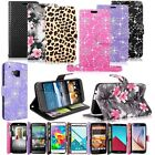 at&t go phone add money with credit card - Leather Phone Wallet Card &Money Stand Holder Case Cover For Samsung LG HTC