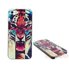 New Cute Cross Roar Tiger Hard Case Cover Skin For iPhone 4 4G 4S 5 5G 5S