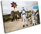 Graffiti Pop Banksy Street SINGLE CANVAS WALL ART Picture Print VA