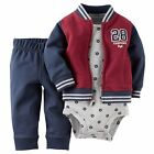 Carters 6 Months French Terry Cardigan Pants Set Baby Boy Clothes