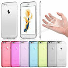 TPU Crystal Clear Soft Transparent Case Cover For iPhone Samsung HTC Sony UK