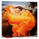 Frederick Leighton Flaming June | Canvas Art Print