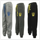 NEW Men Casual Fleece Gym Sports Track Pants Trackies Words size S M L XL 2XL