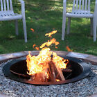"""Heavy Duty Fire Pit Rim / Ring 27"""", 30"""" or 36"""" In ground or Above Ground"""