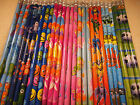 30 Pencils with Eraser Great party bag filler Select your theme