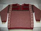 SONDRE Authentic Norwegian Design Wool Sweater size Small