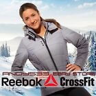 womens winter jacket fur hood slim Lightweight Snow Coat XS S Reebok NWT on SALE