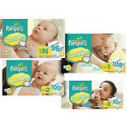 Pampers Swaddlers Diapers Size N, 1, 2, 3, 4, 5 CHEAP!!!