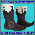 Mens Leather Boots Medieval Boot Period Shoes renaissance Musketeer Footwear