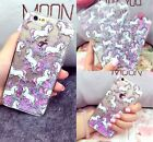 Dynamic Quicksand Unicorn Liquid Glitter Phone Hard Case For iPhone 5/6/6S Plus