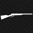 RIFLE HAND GUN WINCHESTER ARMY WILD WEST HISTORICAL VINYL DECAL STICKER (W-01)