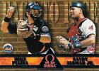 1998 Pacific Omega Face To Face Insert #3 Mike Piazza & Sandy Alomar Jr.
