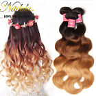 Ombre Three tone Malaysian Body Wave Human Hair Weave 3/4 bundles Malaysian Hair