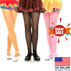 red tights kids - Girls Sizes 1-15 Kids Childrens Costume Dance Tights Opaque Pantyhose 9 Colors