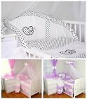 Baby's Comfort 11 PCS BABY BEDDING SET HEARTS ( 12 NEWEST DESIGNS )