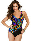 Miraclesuit Colour Code Oceanus Multicoloured Soft Cup Swimsuit 362888