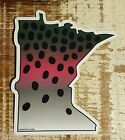 RAINBOW TROUT Stickers STATE CUT-OUTS fishing MANY STATES fly fishing DECALS