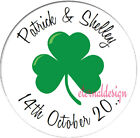 PERSONALISED WEDDING DAY CIRCLE STICKERS (choose from MATT or GLOSSY) WDCS 26