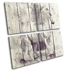 Horse Painting Vintage Animals MULTI CANVAS WALL ART Picture Print