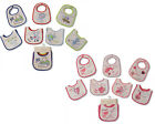 Baby Patterned 7 Days Of The Week Bibs in Boys & Girls (Pack of 7) (0-6 months)