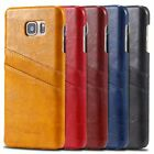 Luxury PU Leather Pocket ID Card Wallet Back Cover Case Skin For Samsung Apple