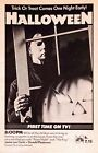 HALLOWEEN Movie Poster Horror Michael Myers TV Ad