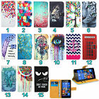 Nokia Microsoft Lumia Mobile Phone Leather Wallet Kickstand Bag Case Cover