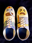 Custom Made Finn Vs The Ice King Canvas Trainers - Ladies Sizes 3-7 Adventure