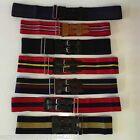 BRITISH ARMY STABLE BELT RAF NAVY MILITARY MARINES AGC KINGS OWN ARTILLERY CADET