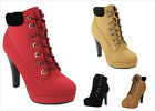 Kyпить NEW Women's Fashion Lace Up High Heel Platform Stilettos Ankle Booties Pumps на еВаy.соm
