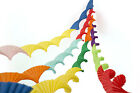 4 SUPERIOR THICKER CREPE PAPER CHRISTMAS PARTY CEILING DECORATIONS STREAMERS R&G