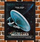 Framed Star Trek Motion Picture Film Poster A4 / A3 Size In Black / White Frame on eBay