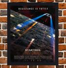 Framed Star Trek First Contact Film Poster A4 / A3 Size In Black / White Frame on eBay
