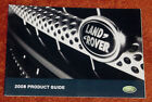 NEW 2008 LAND ROVER LR2 LR3 SPORT+ PRODUCT GUIDE DEALER BROCHURE + FREE SHIPPING