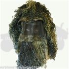 ADULTS GHILLIE HAT CONCEALMENT SNIPER FACE VEIL DISGUISE AIRSOFT HUNTING ARMY