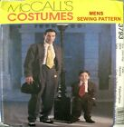 McCalls Sewing Pattern 3793 Mens Retro Zoot Suit Swing Dance Costume