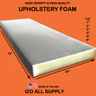 High Density Seat Foam Cushion Replacement Upholstery Foam Per Sheet 24x 72