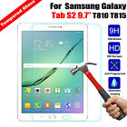 Premium Tempered Glass Screen Protector Film Cover for Samsung Galaxy Tab Tablet