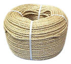 NATURAL ORGANIC SISAL ROPE AVAILABLE IN 6mm to 28mm - VARIOUS LENGTHS