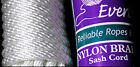 EVERLASTO SASH CORD No.8 NYLON BRAID 6.5mm