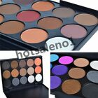Non Toxic Eye Shadow Palette Cosmetic Makeup Shimmer Matte 15 Colors Eyeshadow