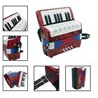 Mini Small 17-Key 8 Bass Accordion Educational Musical Instrument Toy F9R3