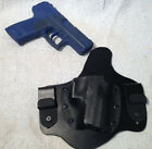 H&K USP Compact IWB Holster Heckler & Koch MTO Leather Kydex Hybrid tuckable