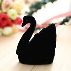 Novelty Cygnet Animals Swan Earring Jewelry Display Flocking Box Case