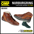 IC/784 OMP CARRERA LOW CUT BOOTS VINTAGE CLASSIC RACE BOOTS HAND MADE IN LEATHER