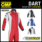 IA01836E OMP DART RACE SUIT FIREPROOF FIA 8856-2000 MOTORSPORT RACING RALLY