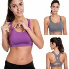 Women's High Impact Full Coverage Wire Free Lightly Padded Sports Bra