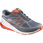 Salomon Sense Propulse Mens Footwear Trail Shoes - Deep Blue Grey Denim Tomato